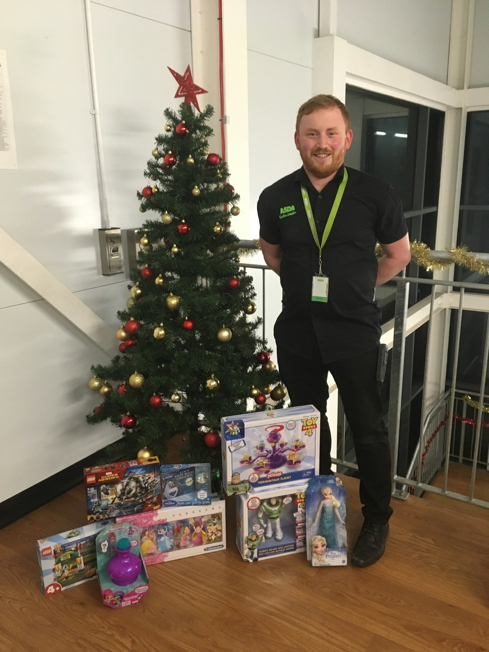 Colleague donates to Angus Toy Appeal | Asda Forfar