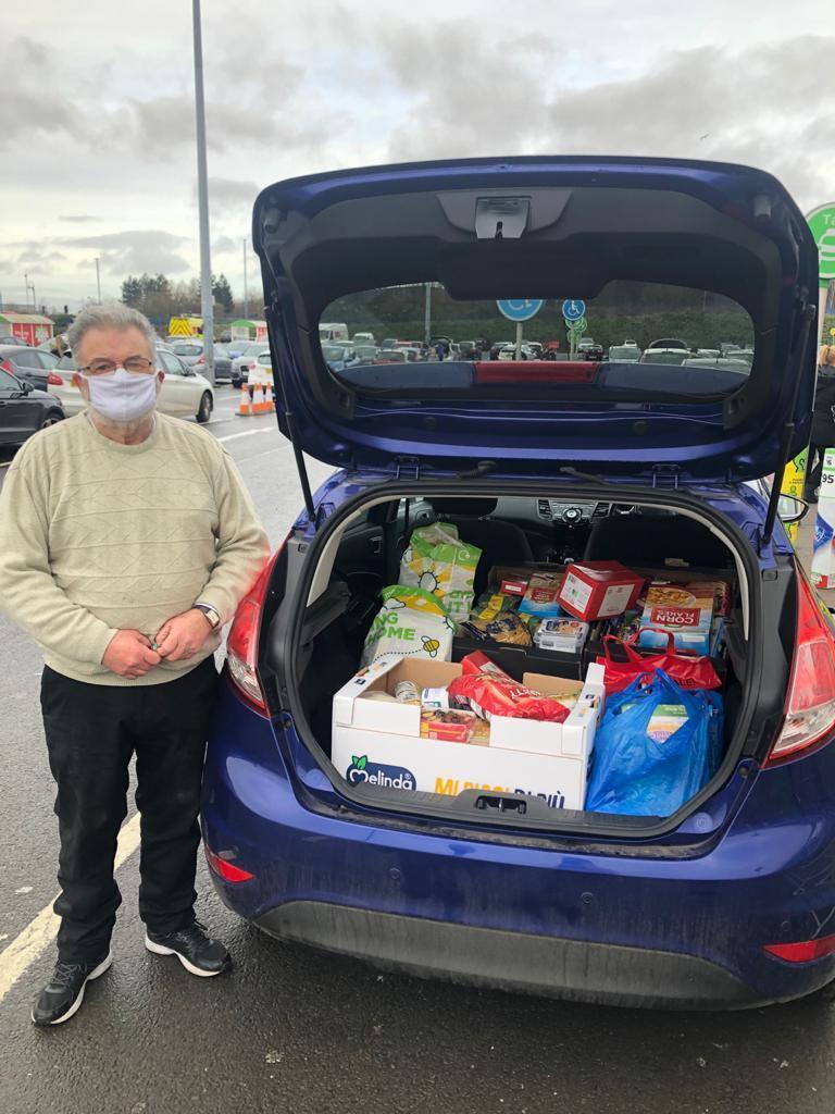 Food bank donation | Asda Great Bridge