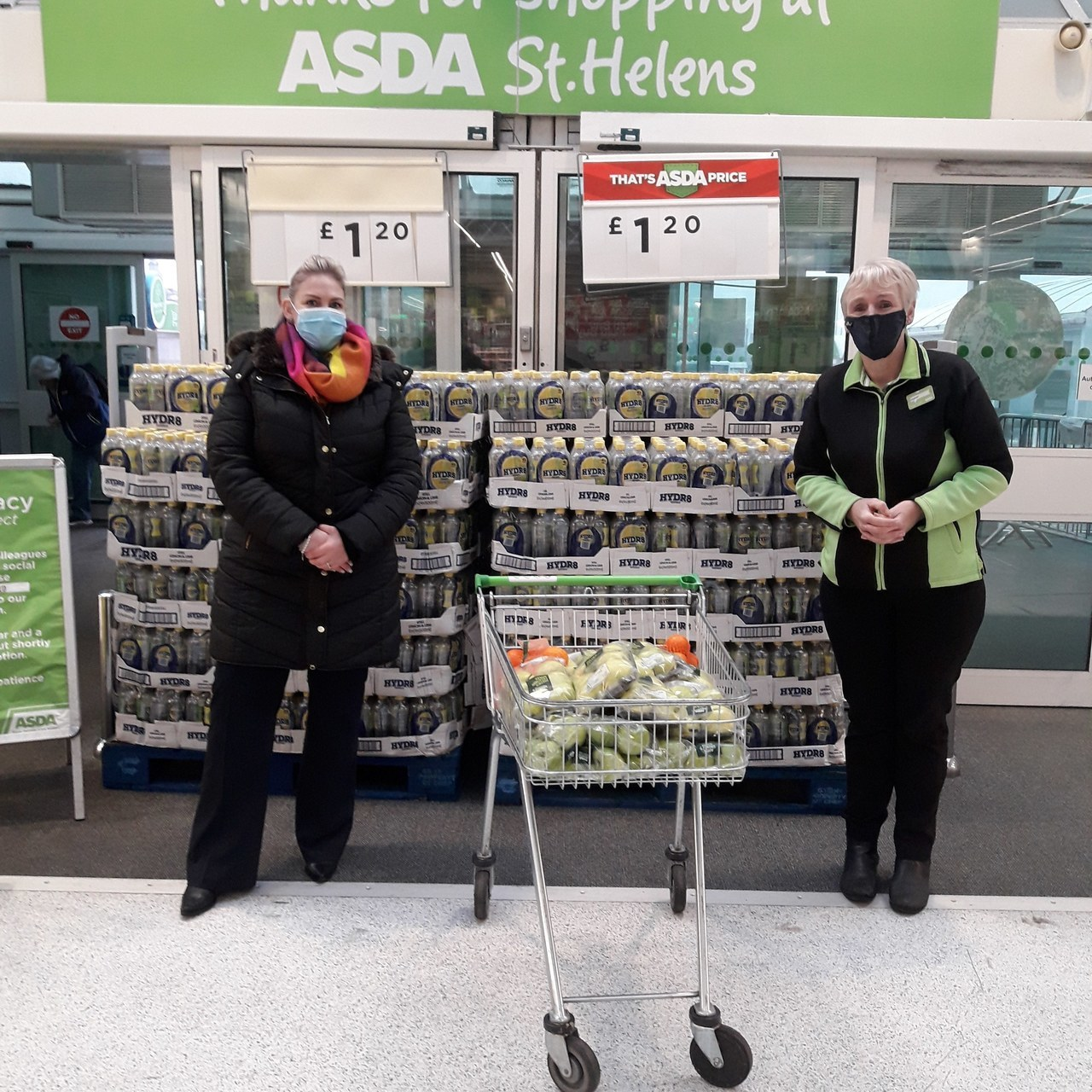 Apples for the pupils at local primary school | Asda St Helens