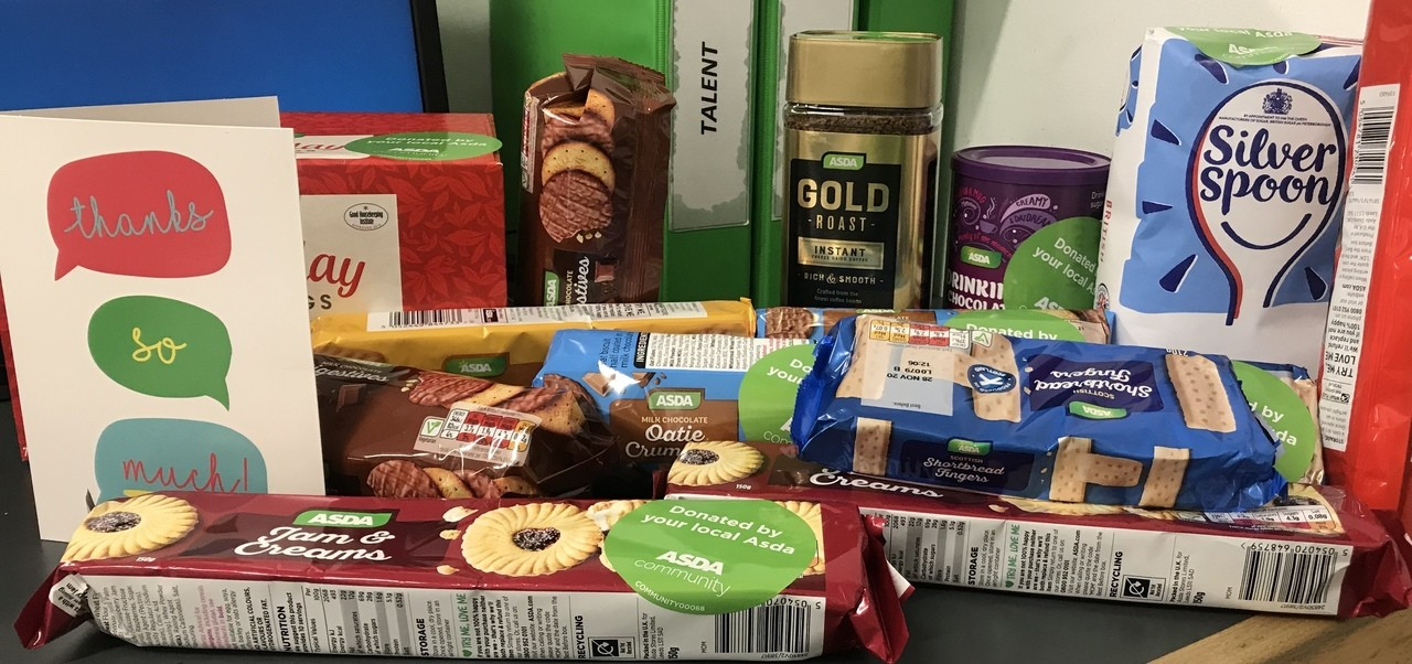 Goodies for Frome NHS workers | Asda Frome