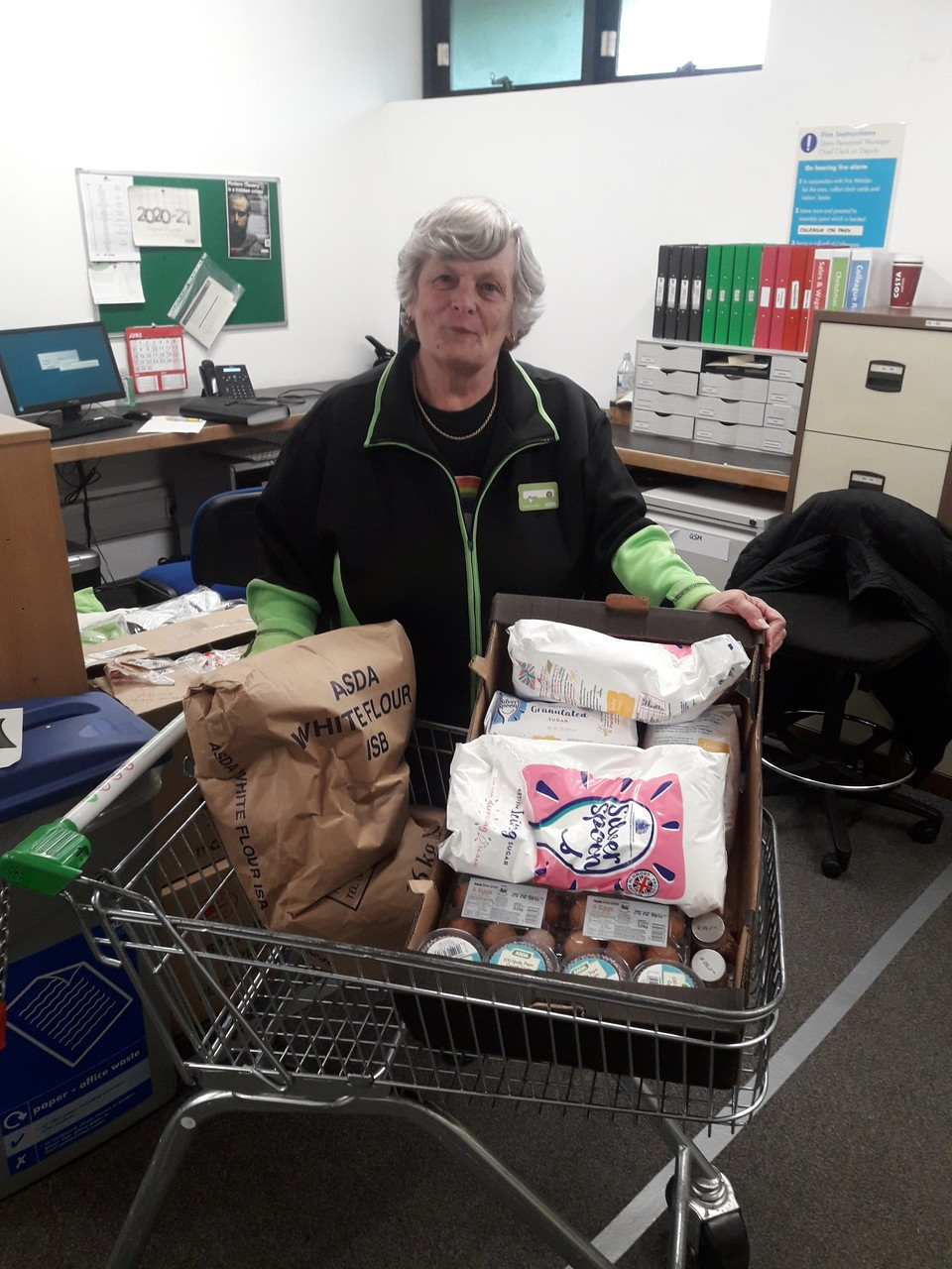 Donation for school's cookery classes | Asda Taunton