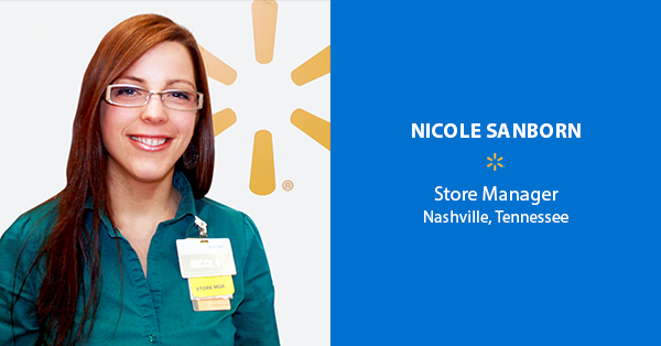 Nicole Sanborn, Store Manager – Nashville, Tennessee