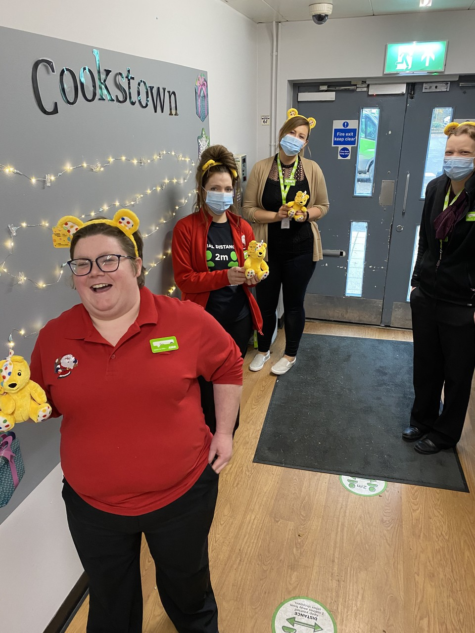 Getting into the spirit of Children In Need | Asda Cookstown