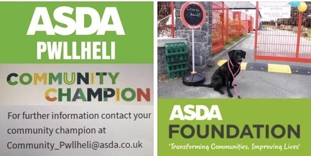 School grants | Asda Pwllheli