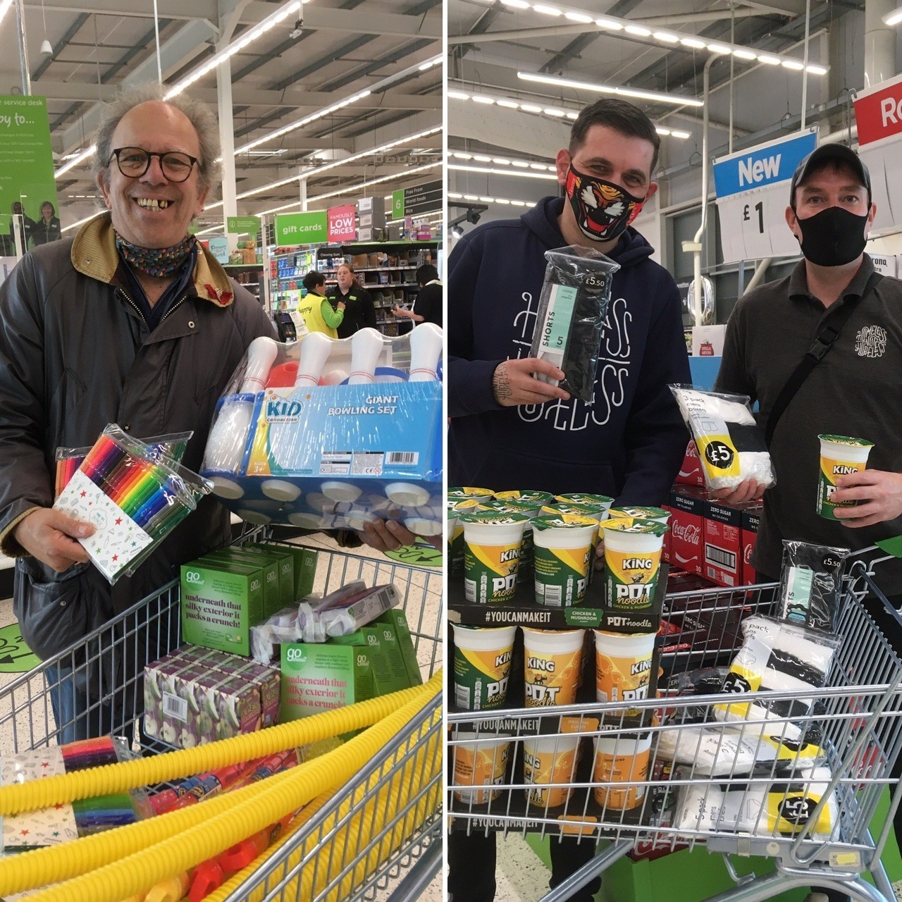 Two local groups receive donations from Asda Keighley  | Asda Keighley
