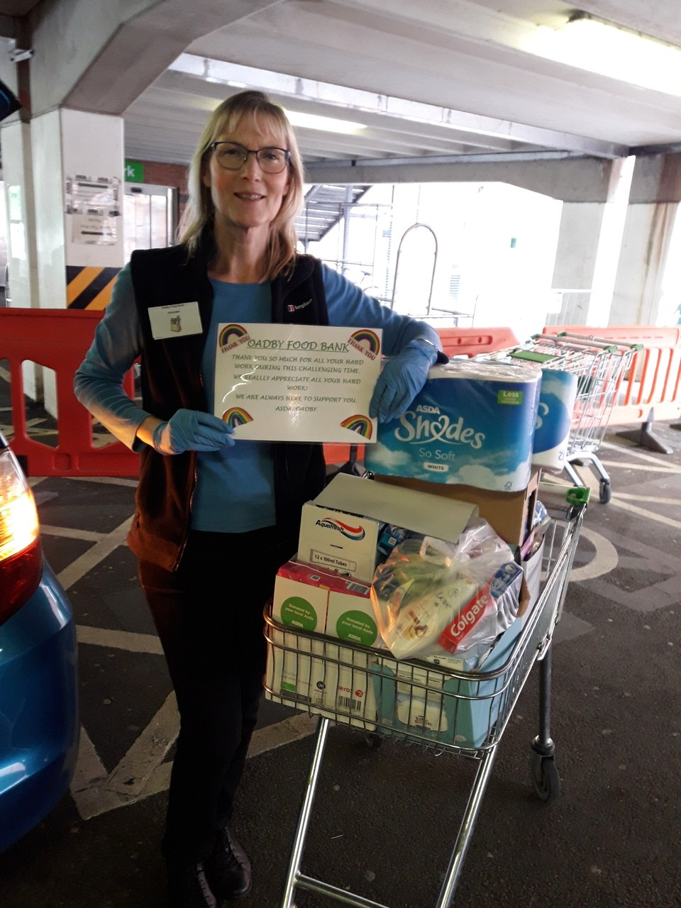 Oadby Foodbank support | Asda Oadby