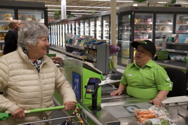 Popular colleague Janet Spurgeon from Asda South Woodham Ferrers