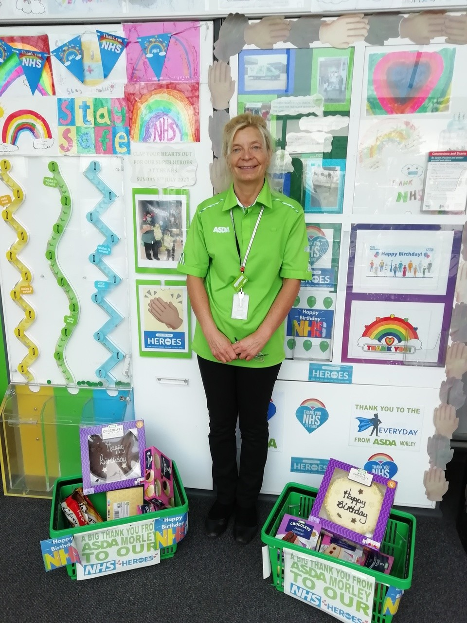 HAPPY 72ND BIRTHDAY TO OUR FANTASTIC NHS   Asda Morley