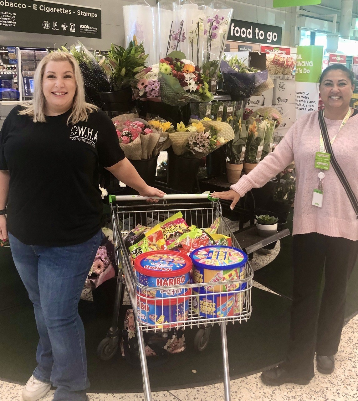 Sweeties ready for a Spooky Pumpkin Trail | Asda Leicester Abbey Lane