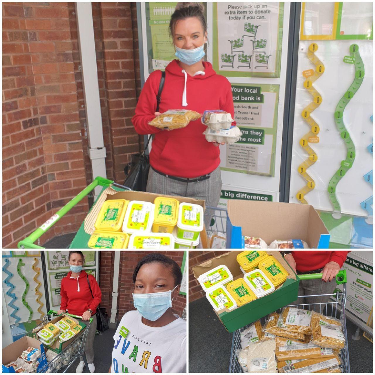 Donation for Hovingham Primary School food parcels | Asda Killingbeck
