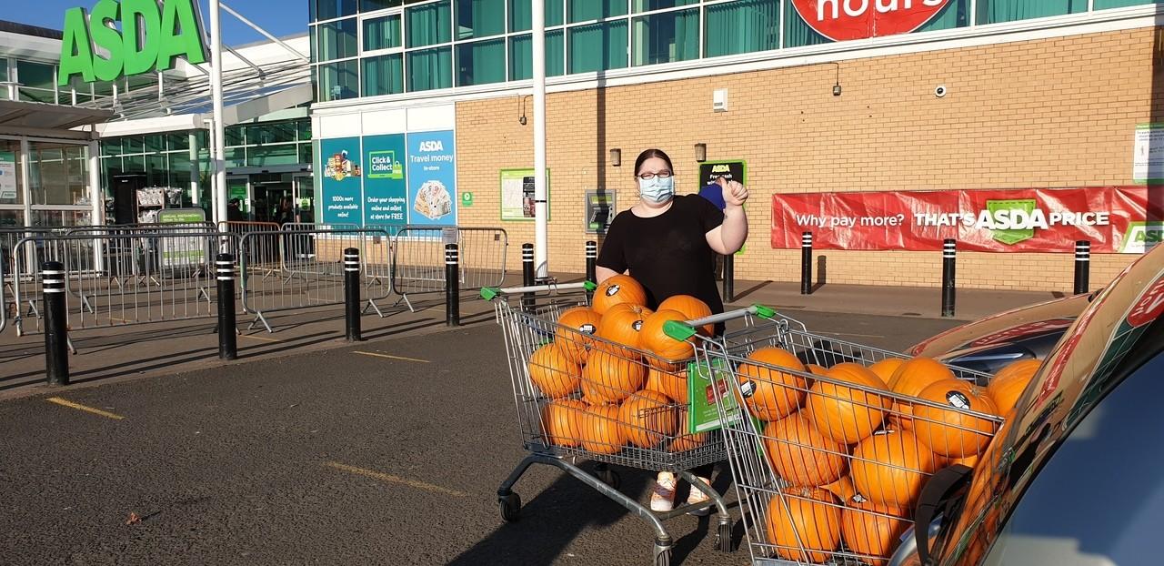 Pumpkins forGlencroft Community Hall  | Asda Toryglen