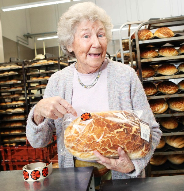 Audrey's Tiger Bread at Asda Barking