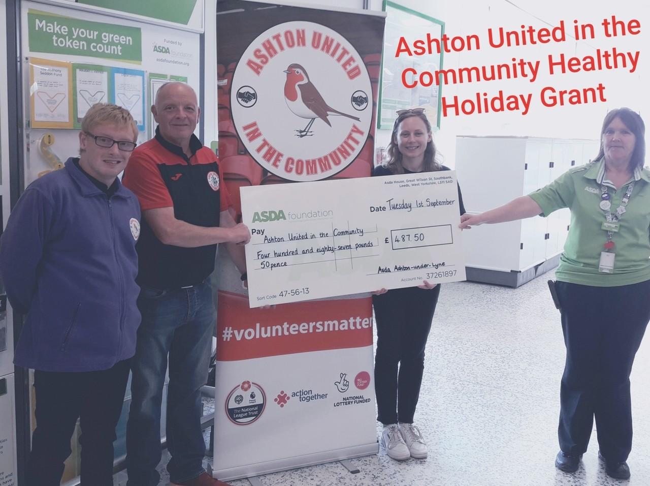 Ashton United in the community | Asda Ashton