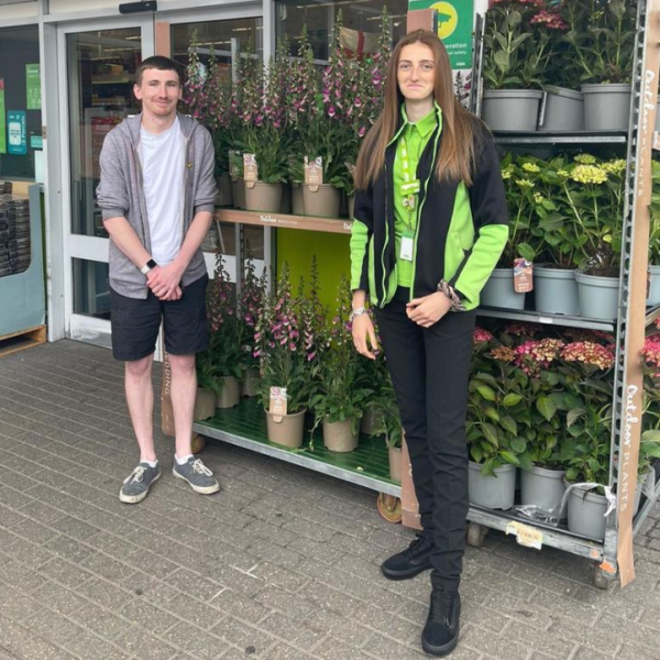 Abbie Gibbons from Asda Heybridge rescued colleague Sean Royle from a car crash