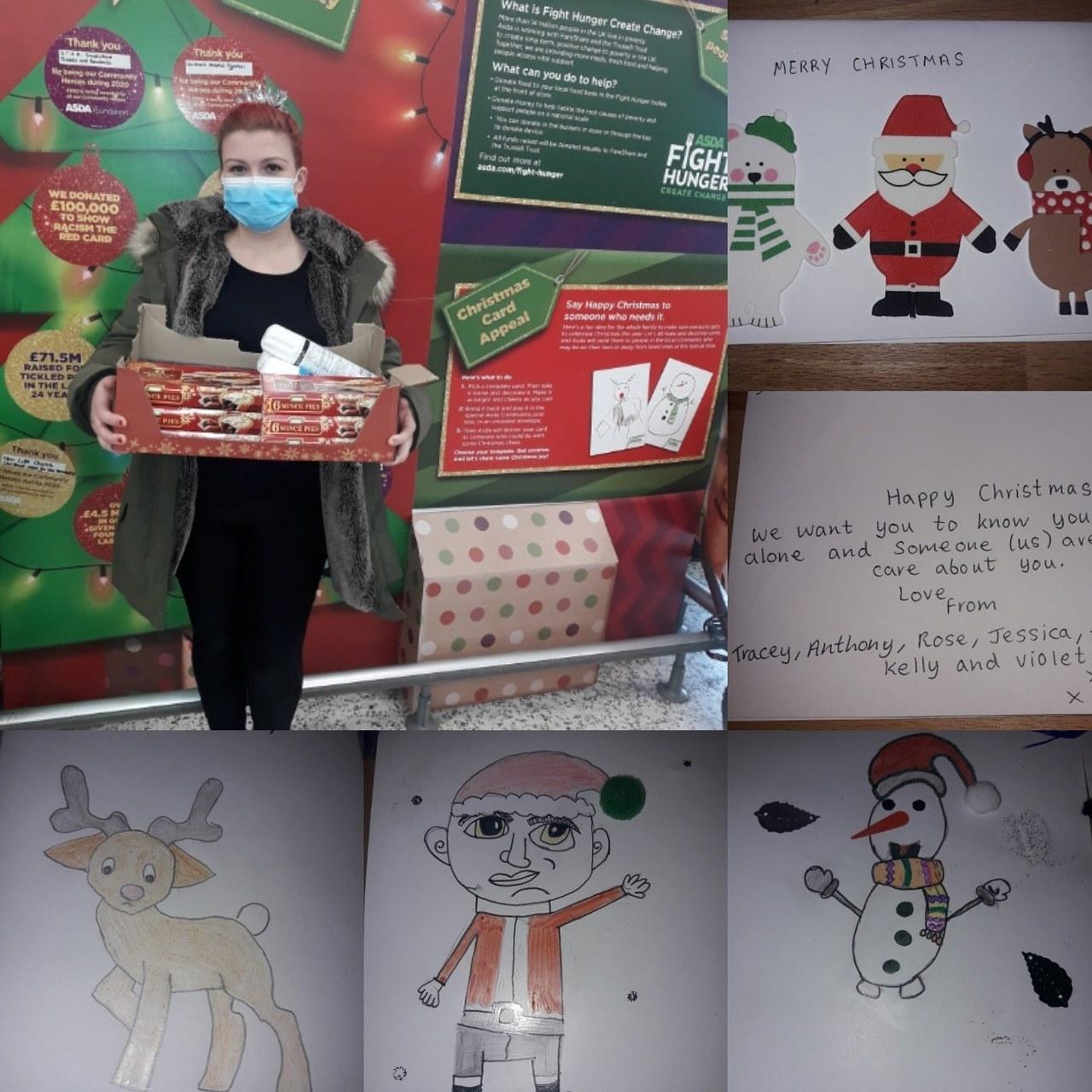 Christmas cards for care home | Asda Ashton