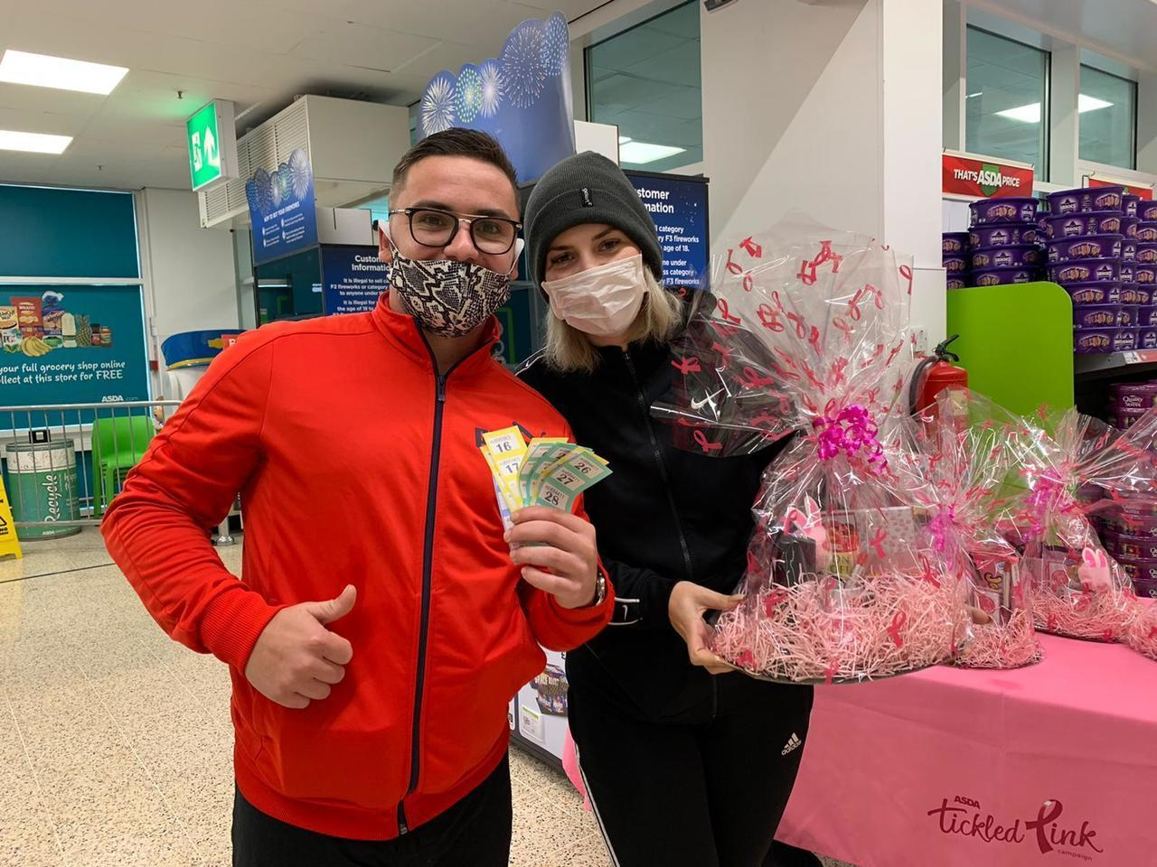 Great support for Tickled Pink! | Asda Dundee Kirkton