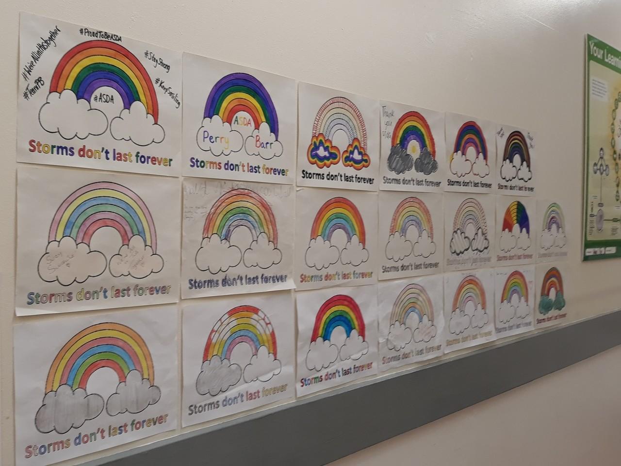 Rainbows | Asda Perry Barr