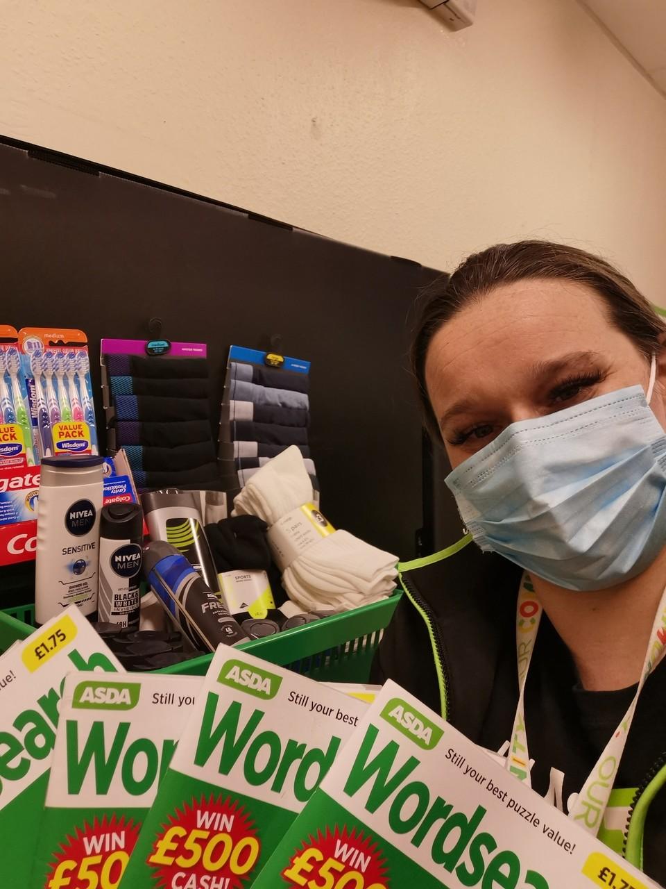 Essential items for the Brooke ward at Trafford General Hospital | Asda Wythenshawe