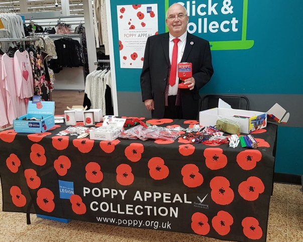 Poppy Appeal at Asda Harrogate