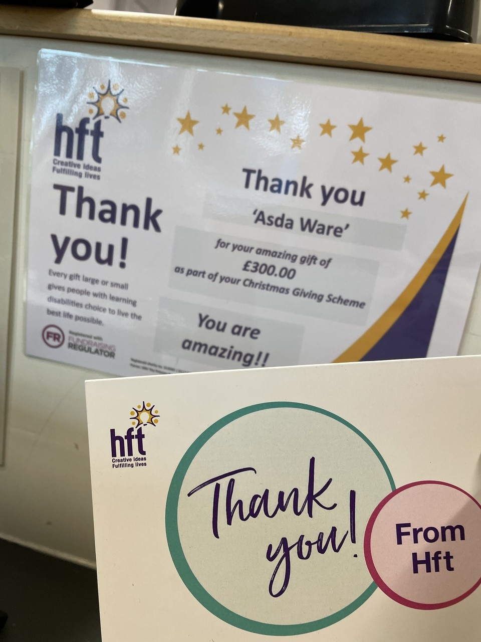HFT | Asda Ware