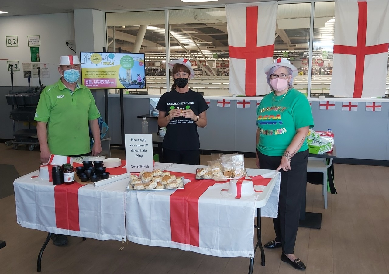 St George's Day celebration  | Asda Donnington Wood