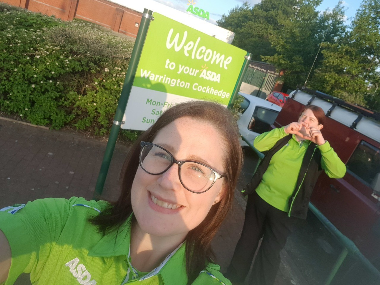 Thank you Claire! | Asda Warrington