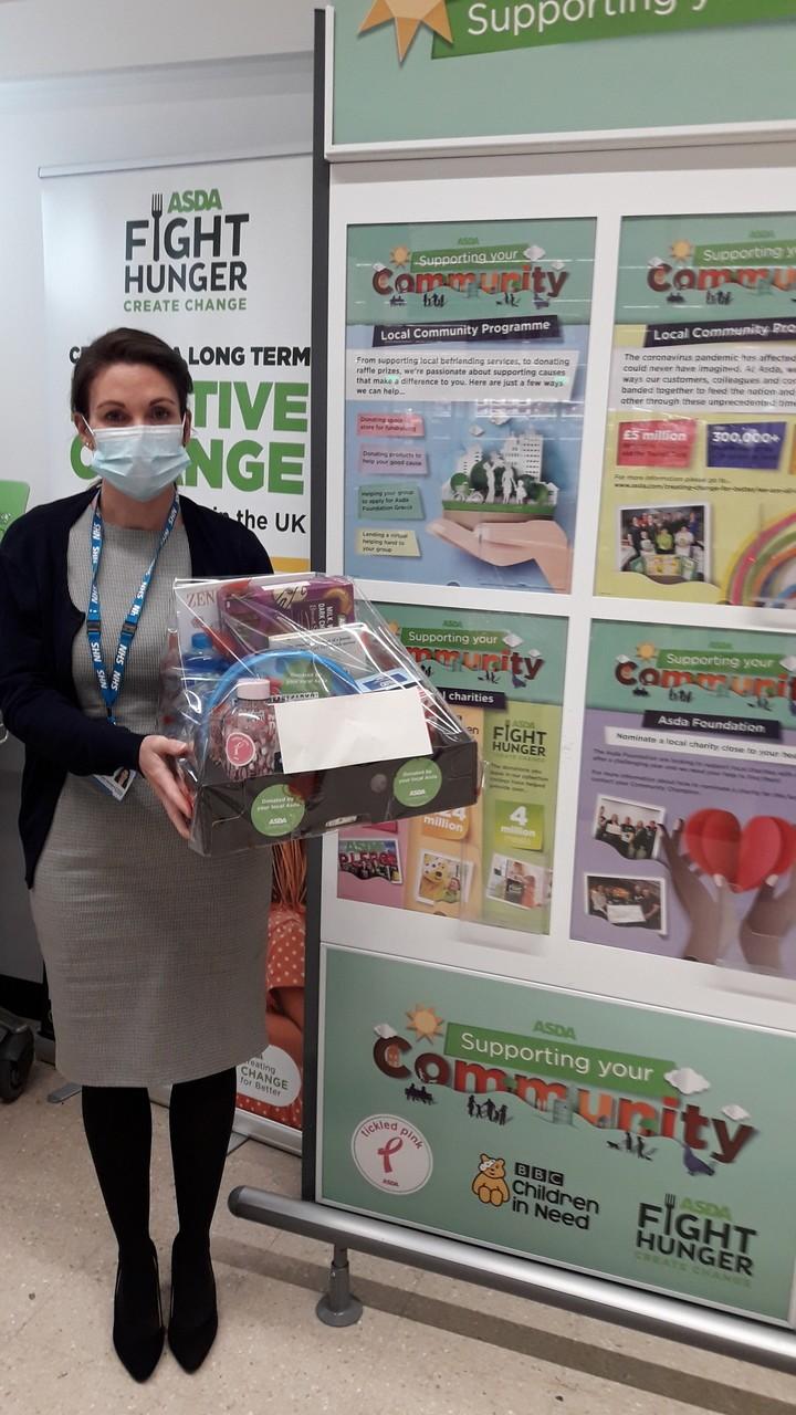 Wellbeing hamper prize for NHS staff | Asda Darlington