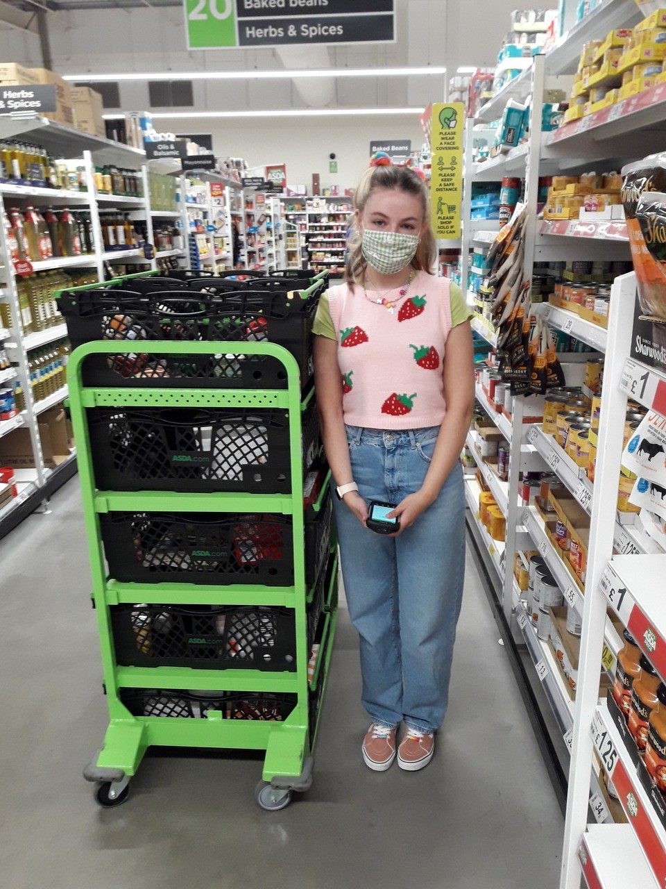Wearing colours with PRIDE | Asda Barnstaple