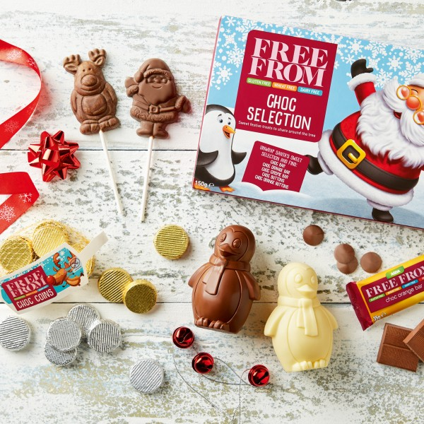 Free From Christmas chocolates