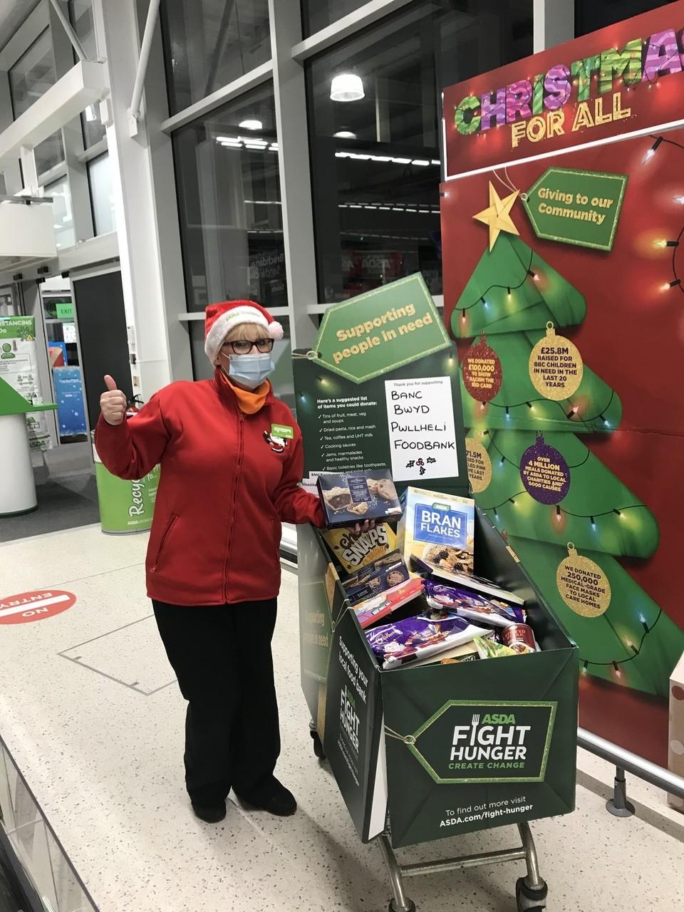 Foodbank Donations | Asda Pwllheli