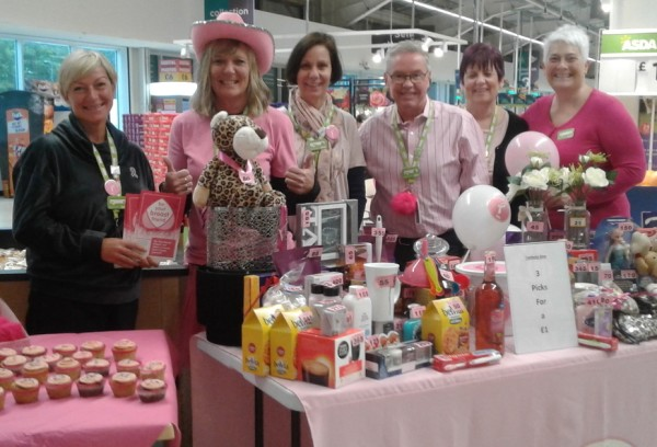 Asda Coventry Tickled Pink