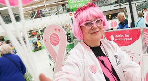 Christine Draws On Her Cancer Experience To Support Asda Customers