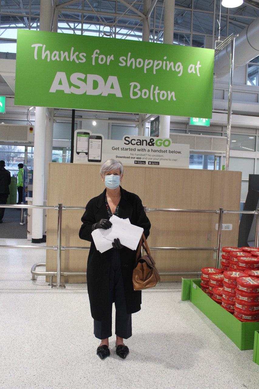 Pen pal letters to the residents | Asda Bolton