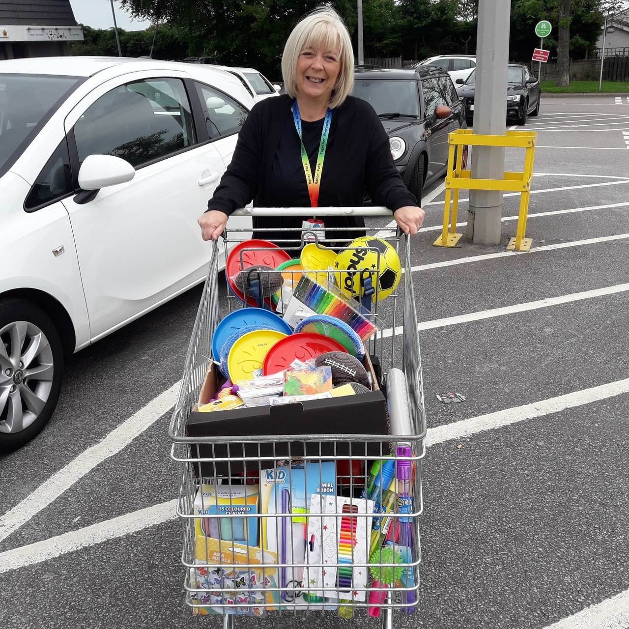 Donation for local children | Asda Middleton Park