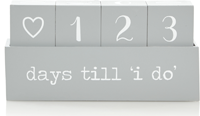 Asda wedding countdown calendar