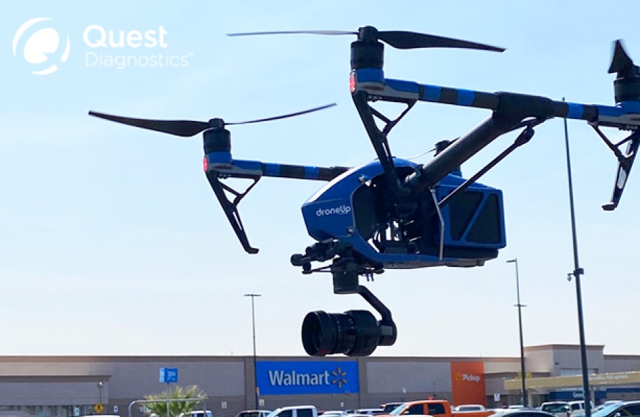 DroneUp Quest COVID19 Kits