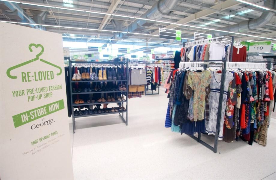 Asda Milton Keynes pop-up shop
