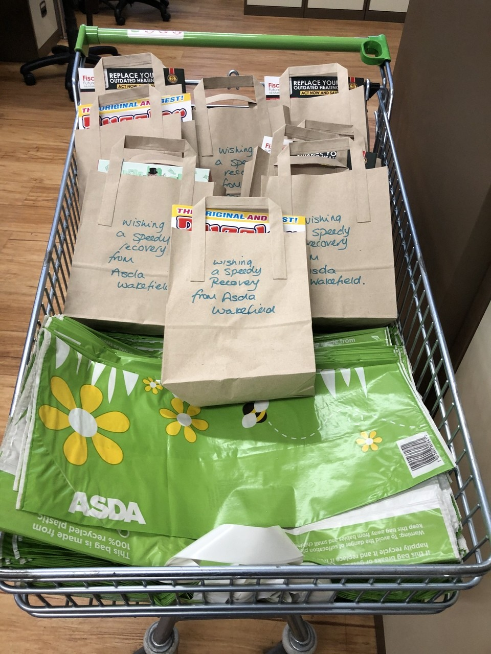 Recovery ward care packs  | Asda Wakefield