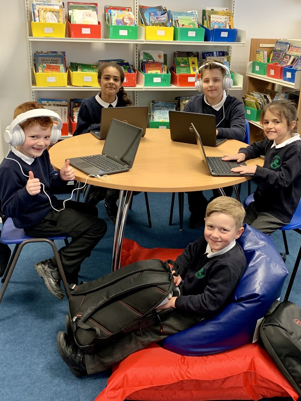 Chilton Community Primary School receive laptops and tech bundles from Asda | Asda Stowmarket