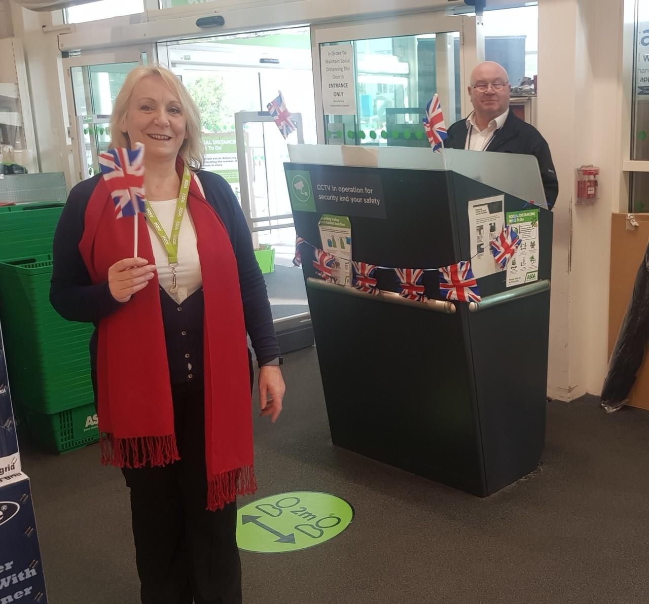 VE Day celebrations | Asda Cheltenham