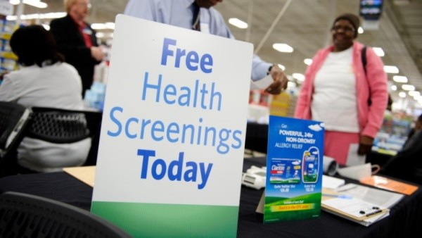 Free Health Screenings Today