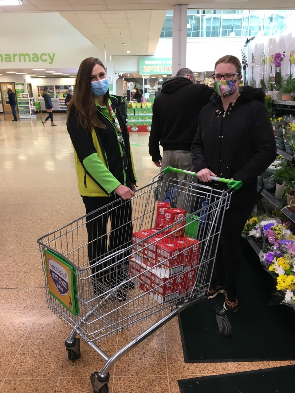 Easter egg donations for Helping The Homeless Believe | Asda Longwell Green