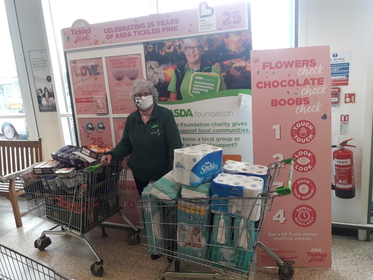 Foodbank grant   Asda Plymouth