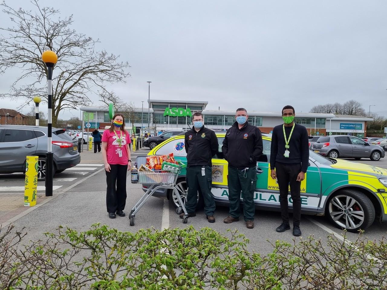 Lincolnshire Emergency Medical Response | Asda Grantham