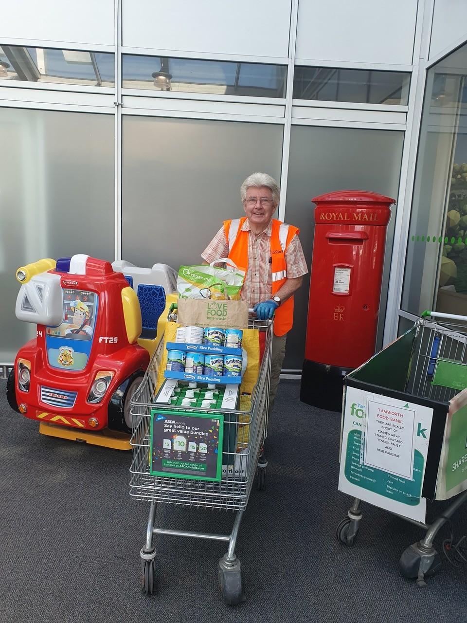 Food bank giving | Asda Tamworth