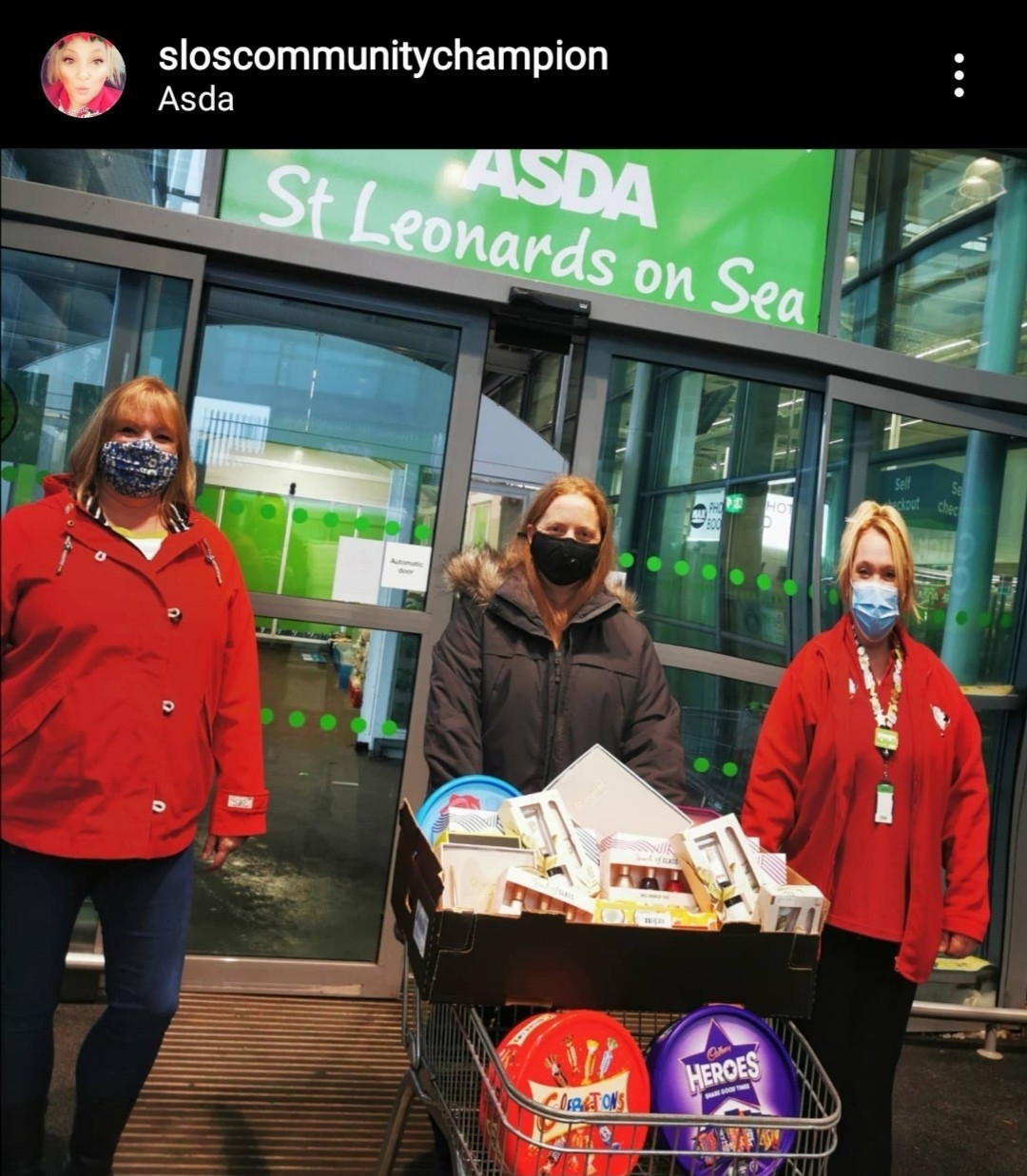 Donation to our Conquest Hospital  | Asda St Leonards on Sea