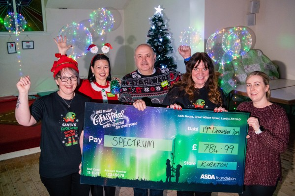 Christmas surprise for Dundee Spectrum from Asda Dundee Kirkton