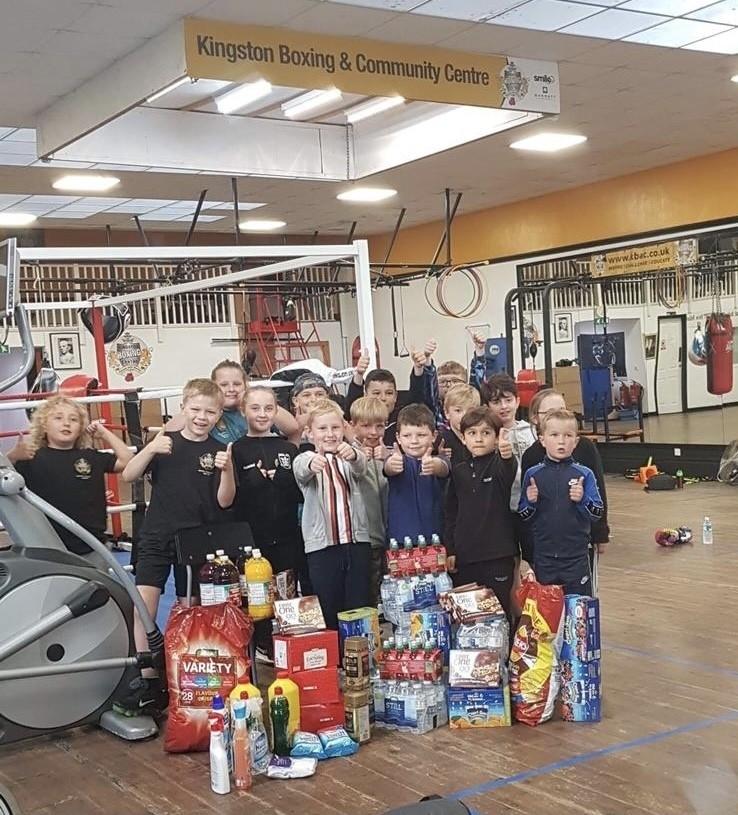 Kingston Boxing & Community Centre donation | Asda Hessle
