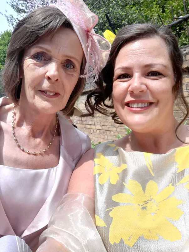 Laura Griffiths from Asda Bloxwich was invited to a Buckingham Palace garden party for her community work