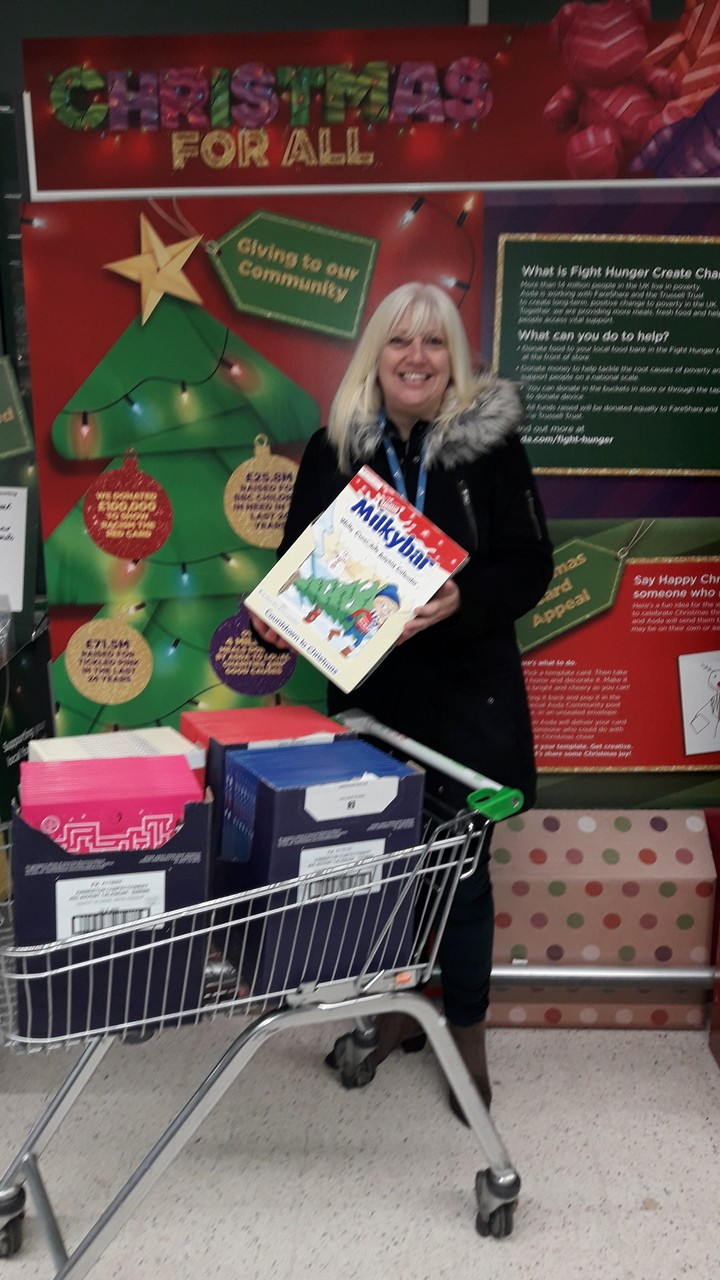 Southfields School selection box donation | Asda Coventry
